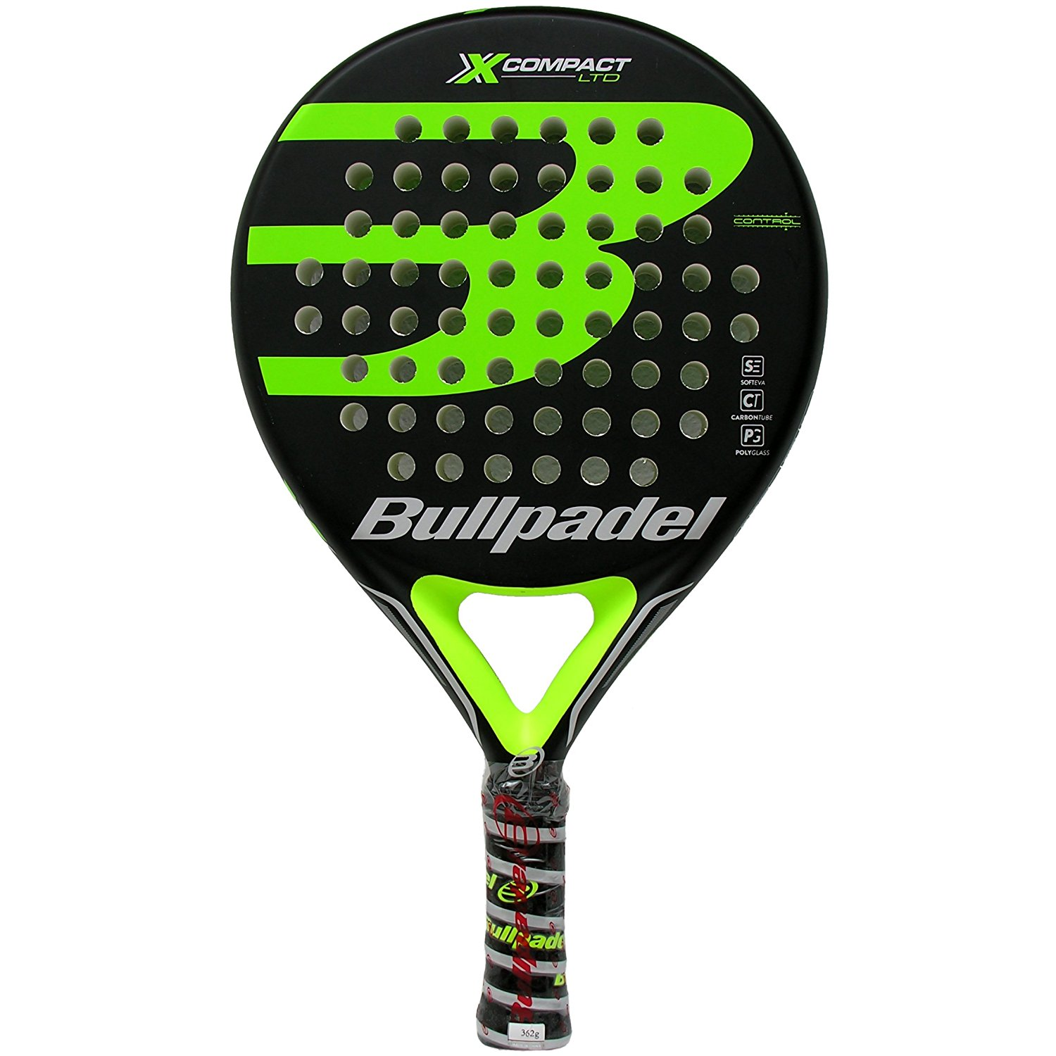 Pala de padel Bullpadel X-Compact LTD Green