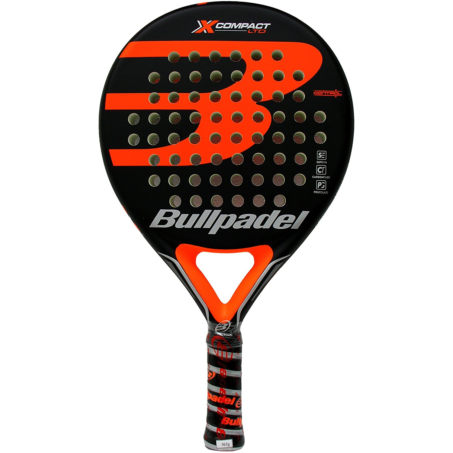 Pala de padel Bullpadel X-Compact LTD Orange