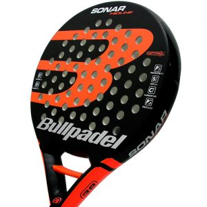 Pala de padel Bullpadel Sonar Orange 1