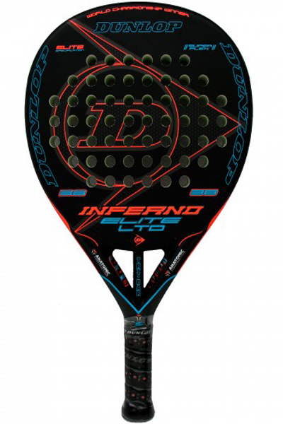 Pala de pádel Dunlop Inferno Elite LTD Orange - naranja 2018