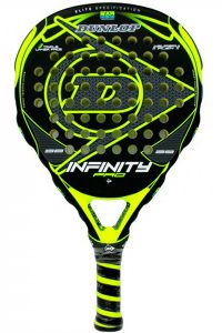 Pala de pádel Dunlop Infinity Pro Yellow - amarilla 2018