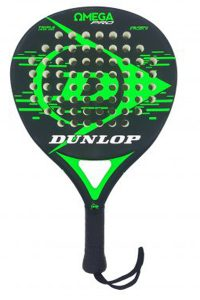 Pala de pádel Dunlop Omega Green - verde 2018